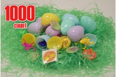 Plastic Easter eggs filled with Toys-1000