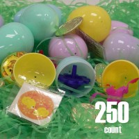Plastic Easter eggs filled with Toys-250